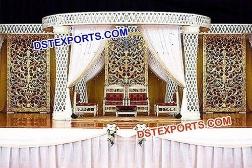 Asian Wedding Mandap