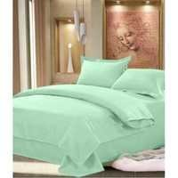 Plain Double Bed Sheets