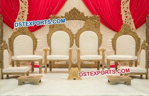 Beautiful Hindu Wedding Mandap Chairs