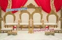 Beautiful Hindu Wedding Mandap Chairs