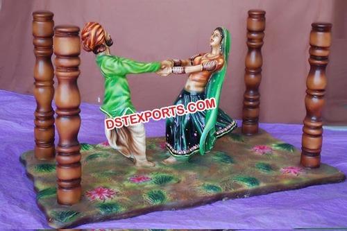 Rajasthani Decorative Center Table