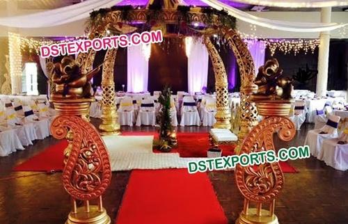 Elephant Tusk Wedding Mandap