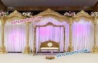 Traditional Indian Wooden Wedding Stage