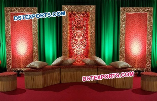 Panel Frame for Mehandi Stage Decoration
