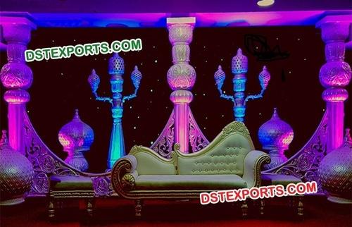 Pakistani Wedding Stage Decoration