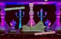 Pakistani Wedding Stage Decoration