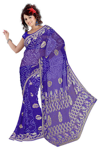 Latest Bandhani Art Silk Saree
