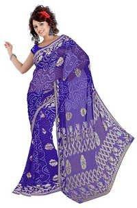 Latest Bandhani Art Silk Saree