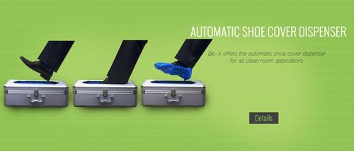Aluminium Alloy Made Automatic Shoe Cover Dispenser
