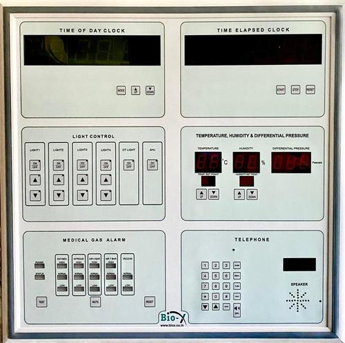 Membrane type Surgeon Control Panel with Medical Gas Alarm System