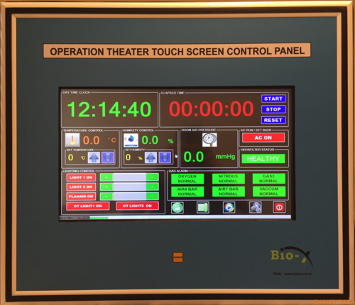 Advance Result Oriented Surgeon Control Panel with Digital Clock