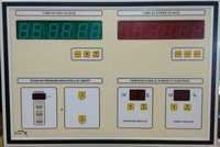 Surgeon Control Panel with Temperature and Humidity Indicator