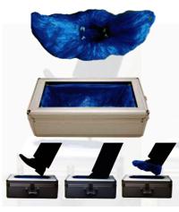 More Efficient And Convenient Shoe Cover Dispenser