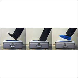Strong Durable Shoe Cover Dispenser Available for Food Industry (1)