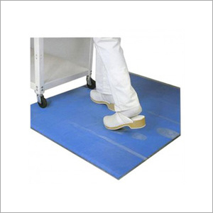Multiple Layer Adhesive Blue Coloured Film Anti-Slip Mat Available for Clean Rooms