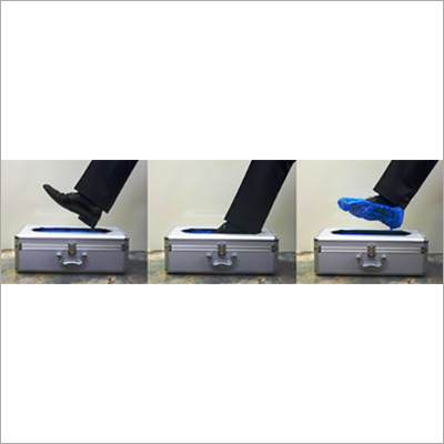Shoe Cover Dispenser to Automatically Wrap Shoe in Hospitals Available