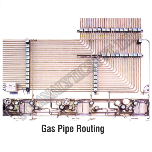 Gas Pipe Routing