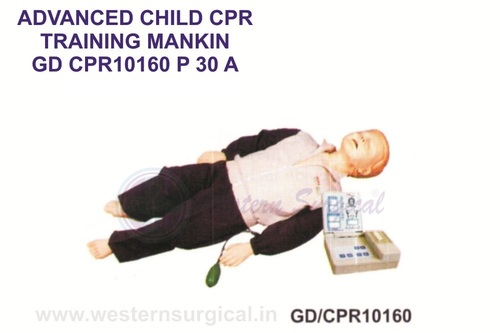ADVANCED CHILD CPR TRINING MANIKIN