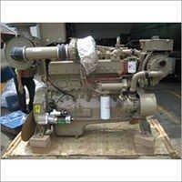 Boat Powering Marine Diesel Engine