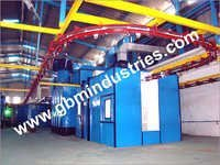 Conveyorised Liquid Painting Plant