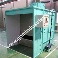 Side Draft Water Wash Painting Booth