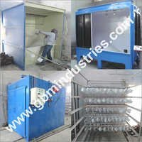 Batch Type Powder Coating Plant