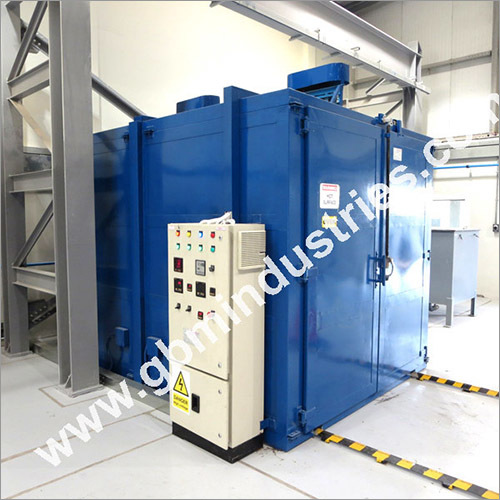 Batch Type Powder Curing Oven