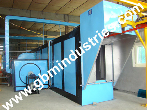 Conveyor Powder Curing Oven