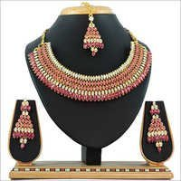 Multi Alloy Necklace Set