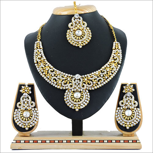 Plated Alloy Necklace Set