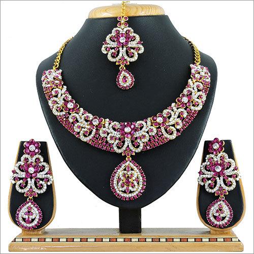 Alloy Rani Necklace Set