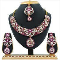 Alloy Rani Necklace Set