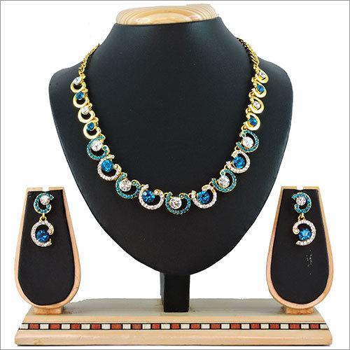 Multi Color Alloy Necklace Set