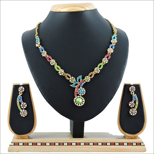Alloy Plated Necklace Set