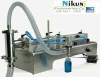 Manual Round Liquid Filling Machine