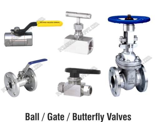 Ball / Gate / Butterfly Valves