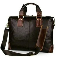 Cherry Leather Laptop Bag