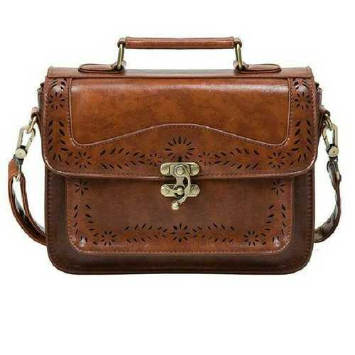Leather Buckle Bag