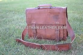 Genuine leather office bag
