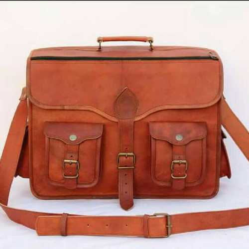 Leather briefcase Bags