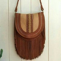 Goat Beaded Leather Bags