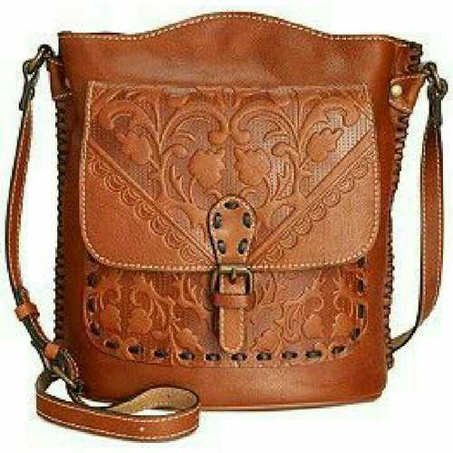 Goat Embossed Leather Bags