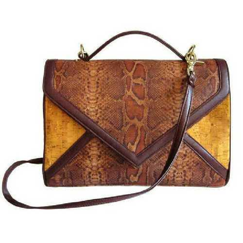 Goat Printed Leather Bags
