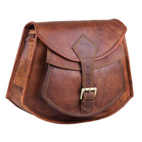 Handicrafted Goat leather bag
