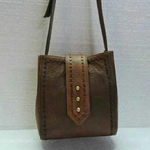 Beaded Goat leather bag
