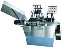 Four Head Onion Skin Tube Filling And Sealing Machine