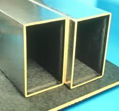 Fiberglass ducts.