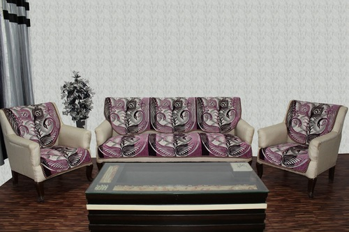 Chenille sofa cover mayur