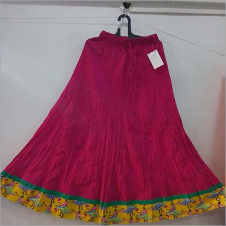 Printed Cotton Long Skirts
