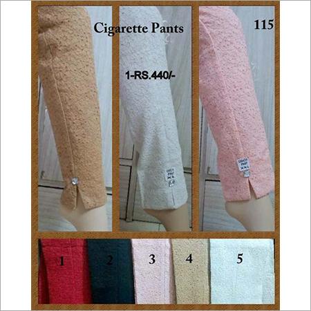 Ladies Cigarette Pants